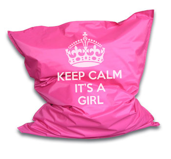 Zitzak Keepcalm its a girl