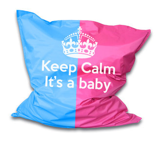 Zitzak keep calm it's a baby